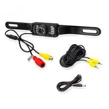 цена на Waterproof 7 LED IR Night Vision  1/3 Inch Color CMOS Car Rear View  Camera New