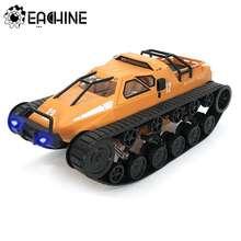Eachine – voiture de char radiocommandé à grande vitesse, modèles de véhicules à contrôle proportionnel complet avec phare avant, eas06 1/12 2.4G