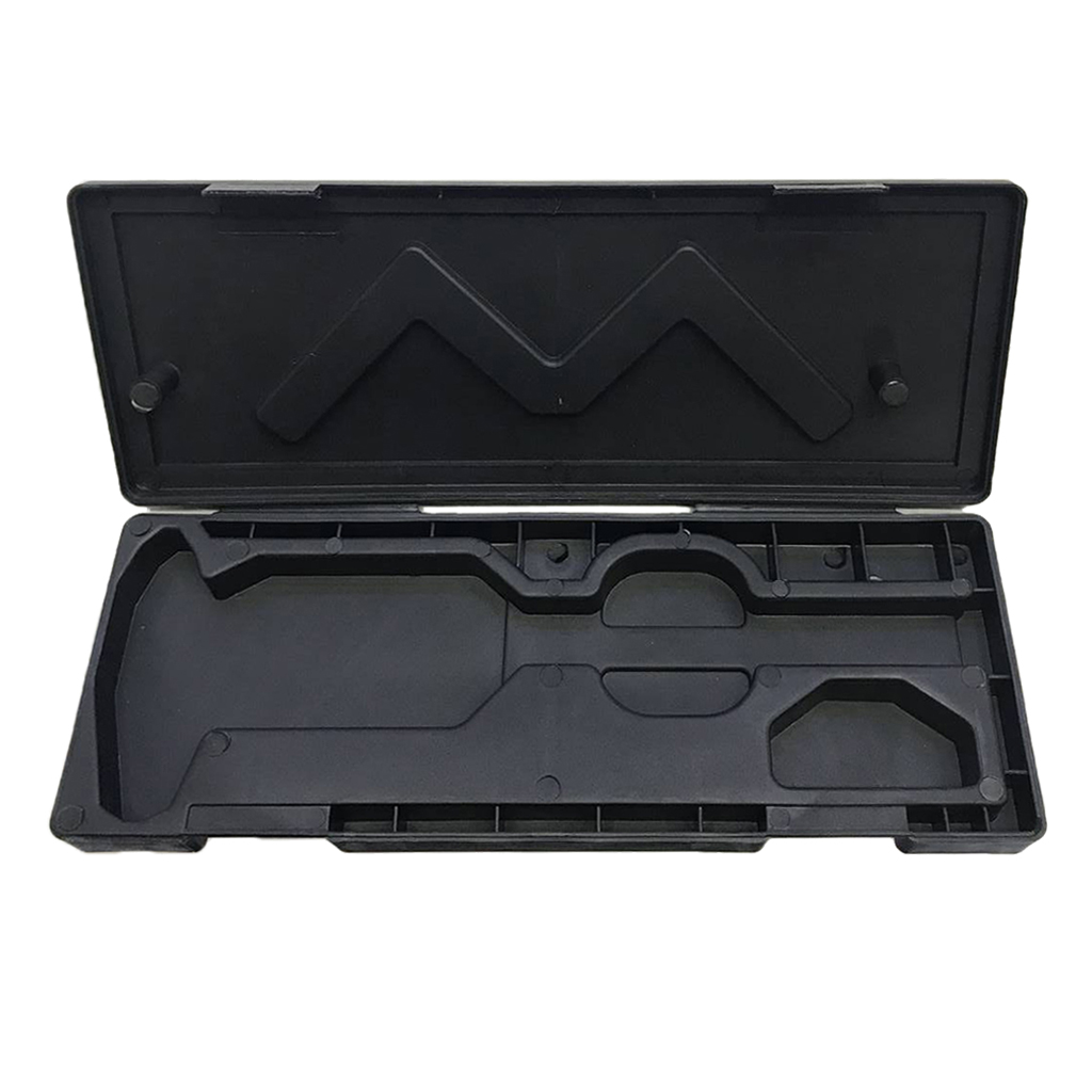 Black 0-150mm Digital Caliper Storage Box Protector Case Plastic