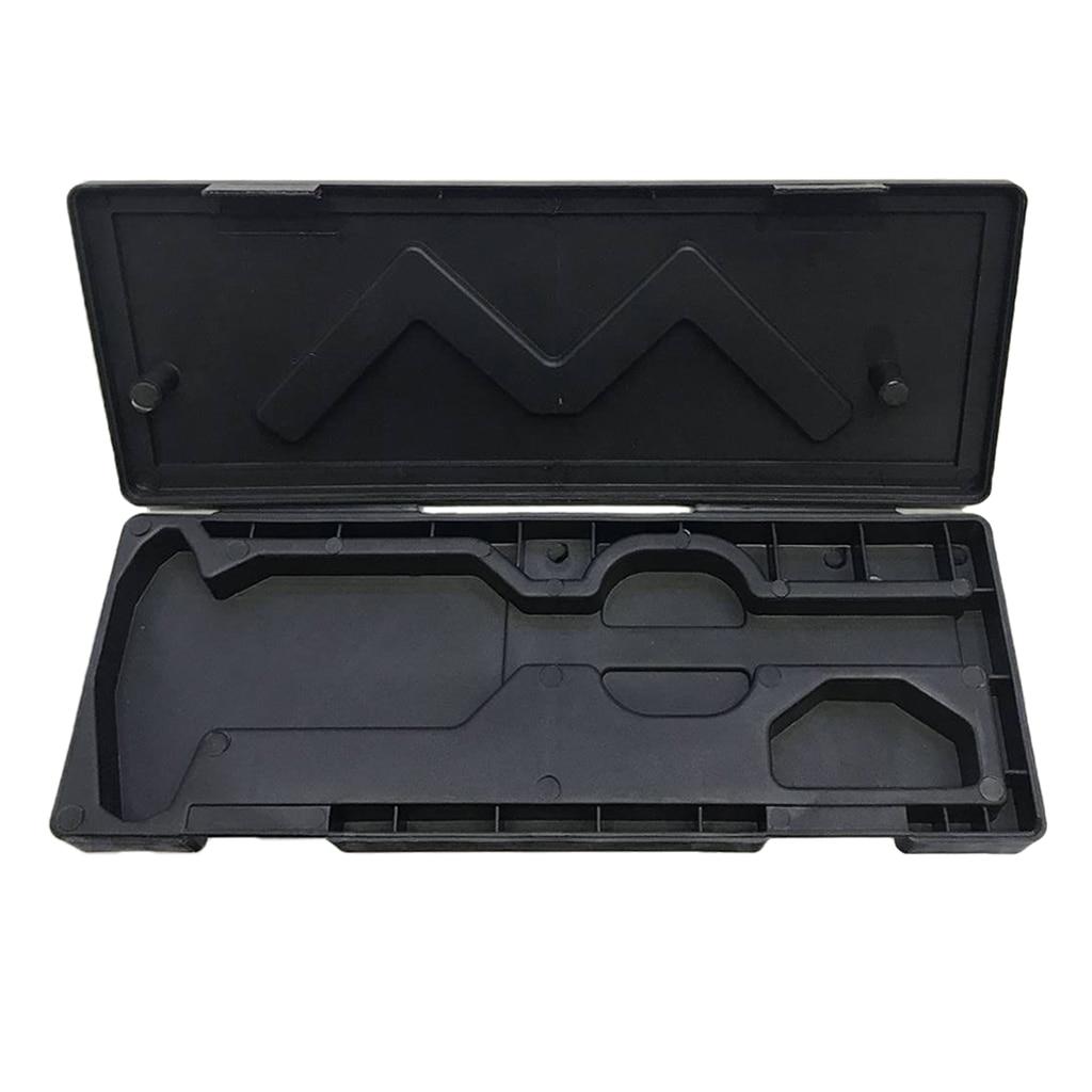 Black 0-150mm Digital Caliper Storage Box Protector Case Plastic