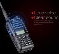 """רדיו ווקי Retevis RT56 פיצוץ ווקי טוקי Portable IP65 רדיו דו-כיווני Waterproof 3.5W VHF UHF 136-174 & 400-480MHz מקמ""""ש (2)"""