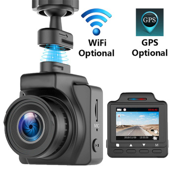 RDVR FULL HD 1080P Dash Cam Mini WiFi Camera GPS Super Video  Car Dash Camera Registrator Recorder dashcam G-sensor Night Vision dash camera junsun h9p
