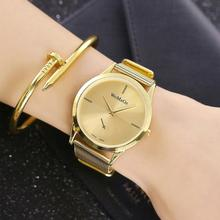 New Alloy Mesh Belt Watch Simple And Hot Selling Classic Fashion Men And Women Quartz Watch Steel Mesh Belt Watch Christmas Gift new and innovative blue gold magnetic metal parallel time and space watch men s fashionable quartz watch simple men s watch