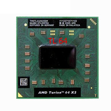 Laptop Processor Amd Turion TL64 Socket-S1/dual-Core 64x2 Tl-64-Tmdtl64hax5dm 64-Cpu