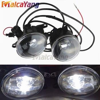 Devil eye Super Bright Fog Light For Toyota Camry Corolla RAV4 Yaris Lexus LX570 LX570 RX350 RX450h HS250h Led Fog Lights 1set