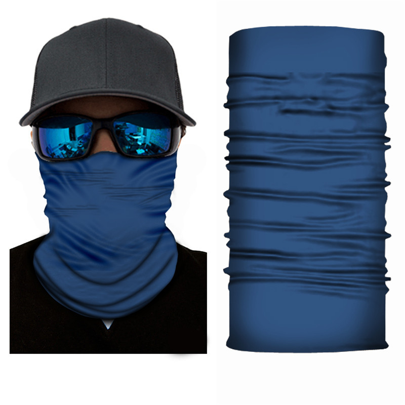 Camping Hiking Scarf Men 100% Polyester Breathable Windproof Anti UV Tactical Face Mask Fishing Hunting Skiing Cycling Bandana