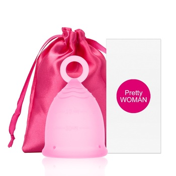 Copa Menstrual de silicona médica para mujer, Copa de higiene femenina, Copa...