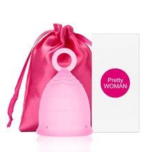 Copo menstrual de silicone médico copo menstrual copo menstrual feminino higiene copa menstrual senhora feminino período copo coppetta metruale