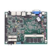 Baytrail J1900 на борту 4 Гб ddr3 + 4 Гб Оперативная память LVDS Материнские платы 6 * com весом 9-36v 2 * Intel I211 Gigabit ethernet-порты материнская плата