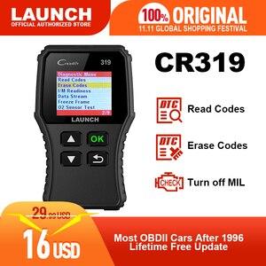 Image 1 - Launch X431 Creader 319 CR319 Auto Code Reader Full OBDII EOBD Automotive Diagnostic Tool OBD2 Scanner as Creader 6001 CR3001