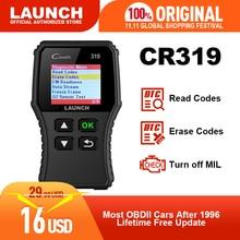 Launch X431 Creader 319 CR319 Scanner complet de voiture, outil de Diagnostic de voiture, lecteur de Code, câble OBD2, 6001 CR3001