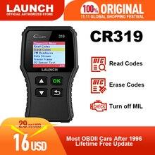 起動X431 creader 319 CR319自動コードリーダーfull obdii eobd自動車診断ツールOBD2スキャナcreader 6001としてCR3001
