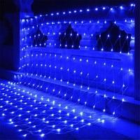 BEIAIDI 10X1M 580 LED Net Mesh Fairy LED String Christmas Light Outdoor Wedding Party Home Garden Patio String Garland Light