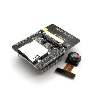 Image 3 - ESP32 CAM WiFi модуль ESP32 последовательный к WiFi ESP32 CAM макетная плата 5V Bluetooth с модулем камеры OV2640