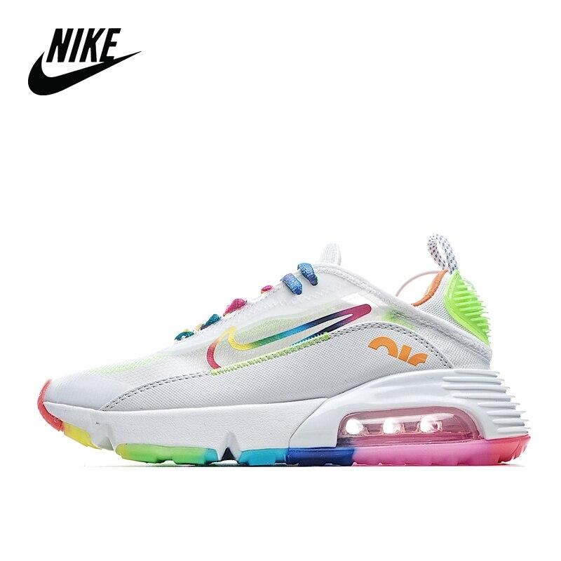 Galleria fotografica <font><b>Nike</b></font> Air Max 2090 Multicolor/Bianco Futuro Sci-Fi Troppo Cuscino D'aria Casual Scarpe Da Jogging Sport