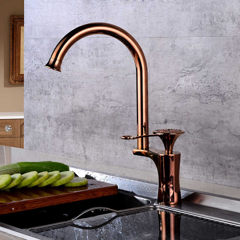 Retro Kitchen Sink Faucet Mixer