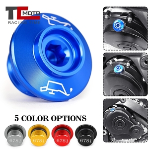 Image 2 - CNC Engine Oil Filler Screw Cover Plug M20*2.5  For Yamaha MT09 Tracer MT09Tracer GT MT 09 SP Tmax 530 T max 530/DX/SX XSR900