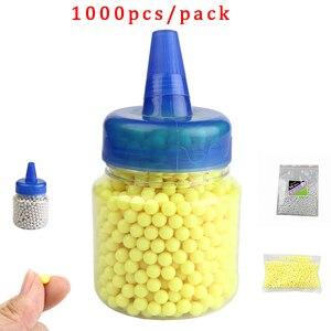 Image 1 - 1000 pz/lotto Airsoft Strikeball BB Balls Paintball fucile da caccia Strike pistola tattica munizioni tiro proiettile fionda palla