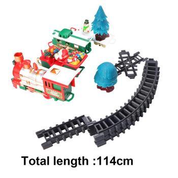 Klasyczny Model kolejka dla dzieci boże narodzenie RC pociąg rozgrywka pociąg z głową światła długi utwór gwizdek muzyka dla partii dzieci bez baterii tanie i dobre opinie PBPBOX CN (pochodzenie) Z tworzywa sztucznego as show 2 AA batteries(not included) RC Trains DO NOT EAT 1 32 5-7 lat 8-11 lat
