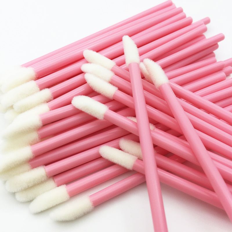 1000Pcs Disposable Makeup Lip Brush Lipstick Lip Gloss Wands Pen Lip Cleaner Applicator Eyeshadow Lip Gloss Make up Tools Hot 1
