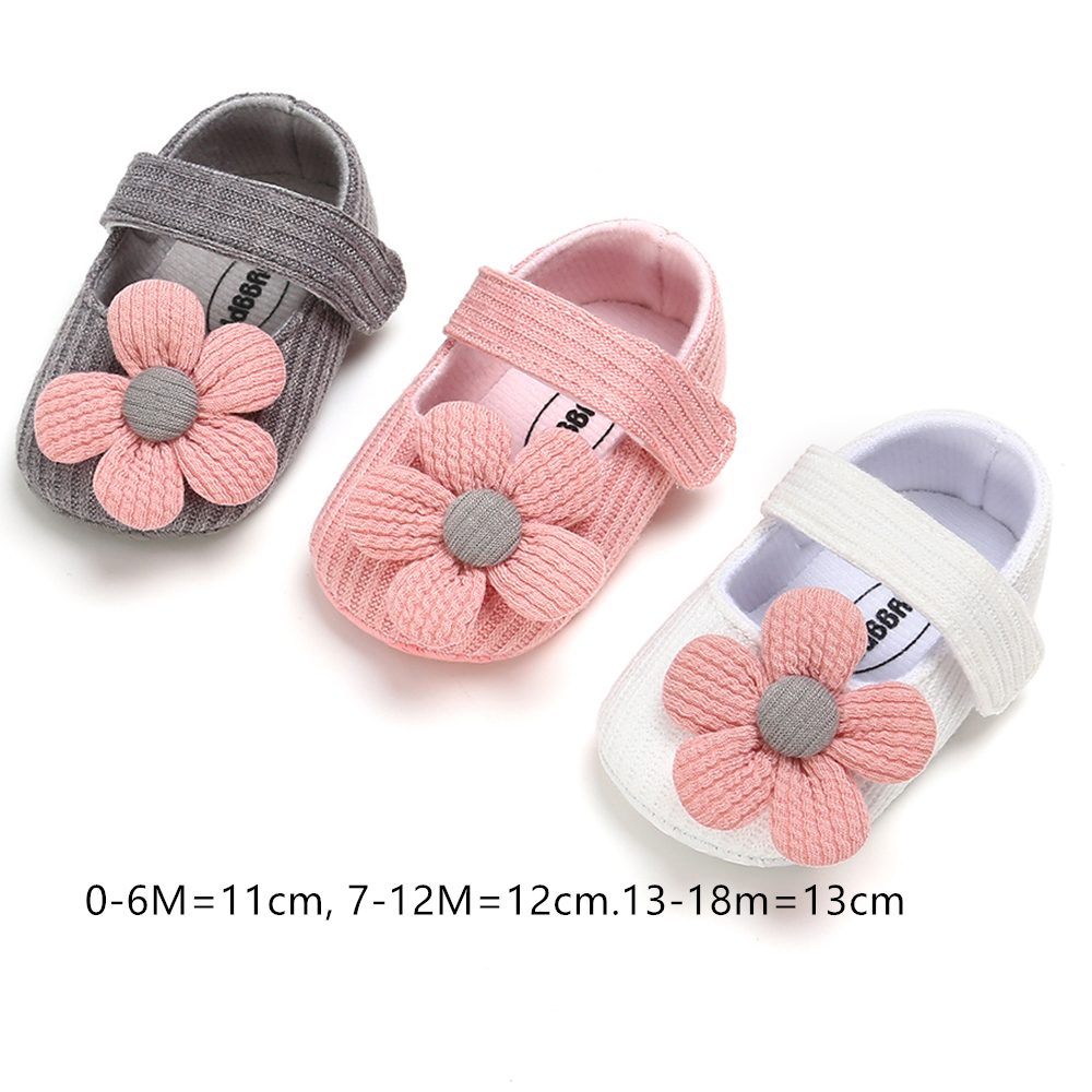 Floral Cotton Baby Girl Shoes Infant  First Walkers Shoes Baby Girl Sneakers For New Born  Toddler Booties For  Indoor Wearing