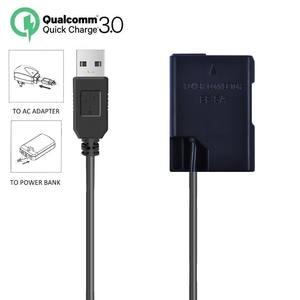 Adapter Battery Camera D5200 Dummy Nikon D3100 D3400 En-El14a Power for D3300/D3400/D3500/..