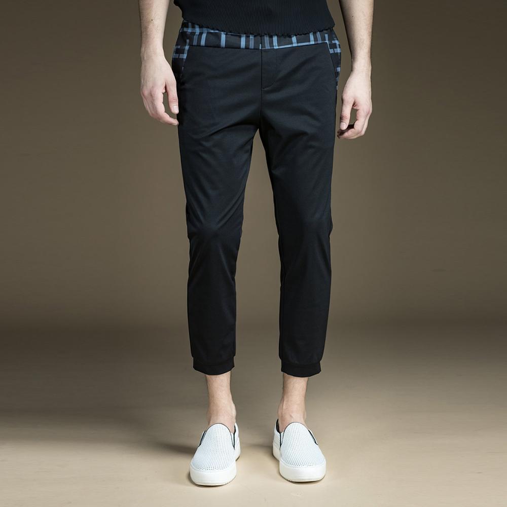 จัดส่งฟรีชายเสื้อผ้าฤดูร้อนใหม่ Slim สบายๆข้อเท้าความยาวกางเกงกางเกง B172217176-ใน กางเกงสกินนี่ จาก เสื้อผ้าผู้ชาย บน   1