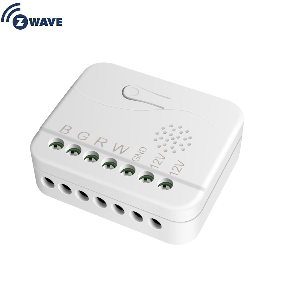 Smart Home Automation Z Wave Plus RGBW Dimmer LED Module Switch Module Zwave Light LED Dimmer Switch