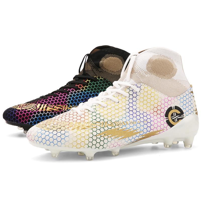 Men's soccer shoes football non slip