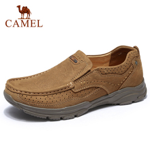 CAMEL High Quality Men Shoes Genuine Leather Shoes