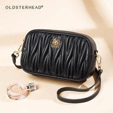 Женская сумка через плечо laorentou черная Повседневная маленькая