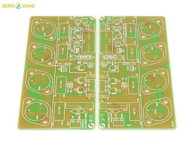 ZEROZONE 1 paio (2 pezzi) scheda PCB per HOOD JLH2003 oro sigillato tubo scheda amplificatore di potenza (2 schede)