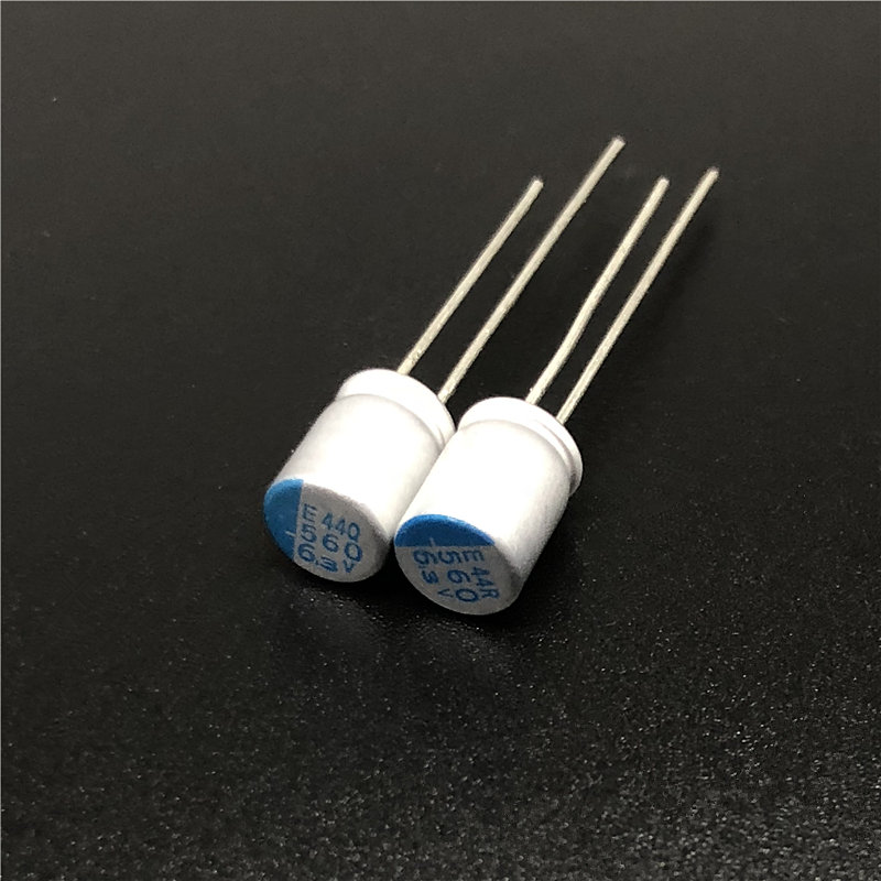 100pcs 560uF 6.3V NCC PSE Serires  6.3x8mm Super Low ESR 6.3V560uF For Motherboard VGA Solid Capacitors