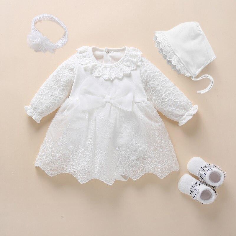 Neve branca vestido de bebê vestido de batismo do bebê princesa branco vestido de batismo para recém-nascido menina do bebê vestidos 3 6 9 meses