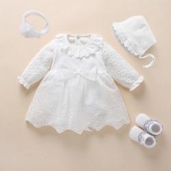 Vestido para menina, vestido de branca de neve para bebê, vestido de batismo, princesa, branco, vestido para recém-nascidos, vestidos para meninas de 3, 6, 9 meses
