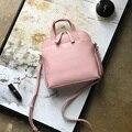 4000169102041 - Bolsa de concha de textura Simple con un solo hombro inclinado bolso de cuero suave
