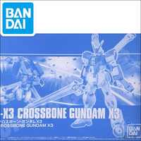 Bandai-modelo Original PB HGUC Gundam, HG 1/144, CROSSBONE X3, GUNDAM NT, traje móvil, juguetes para niños