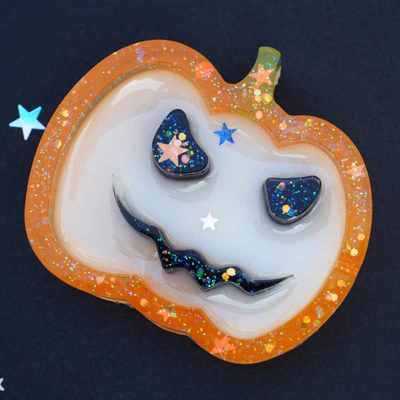 1 PC Hati Kucing Dolphin Shaker Silicone Cetakan Perhiasan Cetakan Bintang Bear Gantungan Kunci Pesona Perhiasan Kerajinan Alat