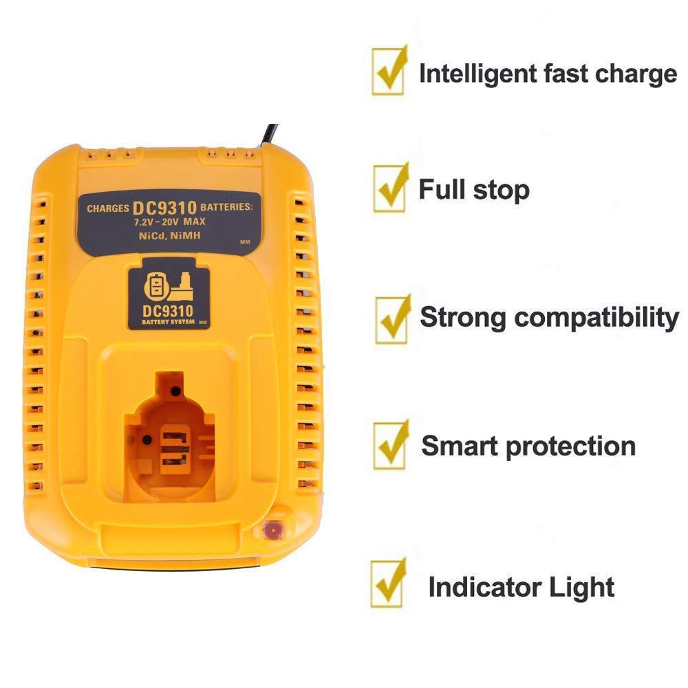 Зарядное устройство для аккумуляторов Dewalt DC9310 7,2-18 в Nicad и Nimh DW9057 DC9071 DC9091 DC9096