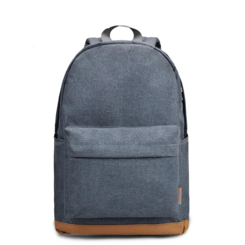 TINYAT Men's 15 Inch Laptop Backpacks Computer Male School Backpacks Rucksacks Leisure For Teenage Travel Shoulder Mochila Grey