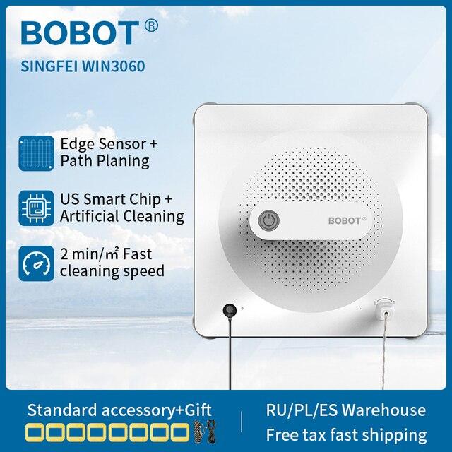 BOBOT חדש SINGFEI WIN 3060 רובוט חלון רובוט מנקה לבית אוטומטי חלון מנקה חכם מתוכנן ניתוב