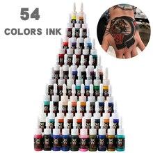Nouveau 5 ml mélange de couleurs encre de tatouage Semi Permanent pigment végétal naturel maquillage tatouage professionnel pigment d'encre pour peinture d'art corporel