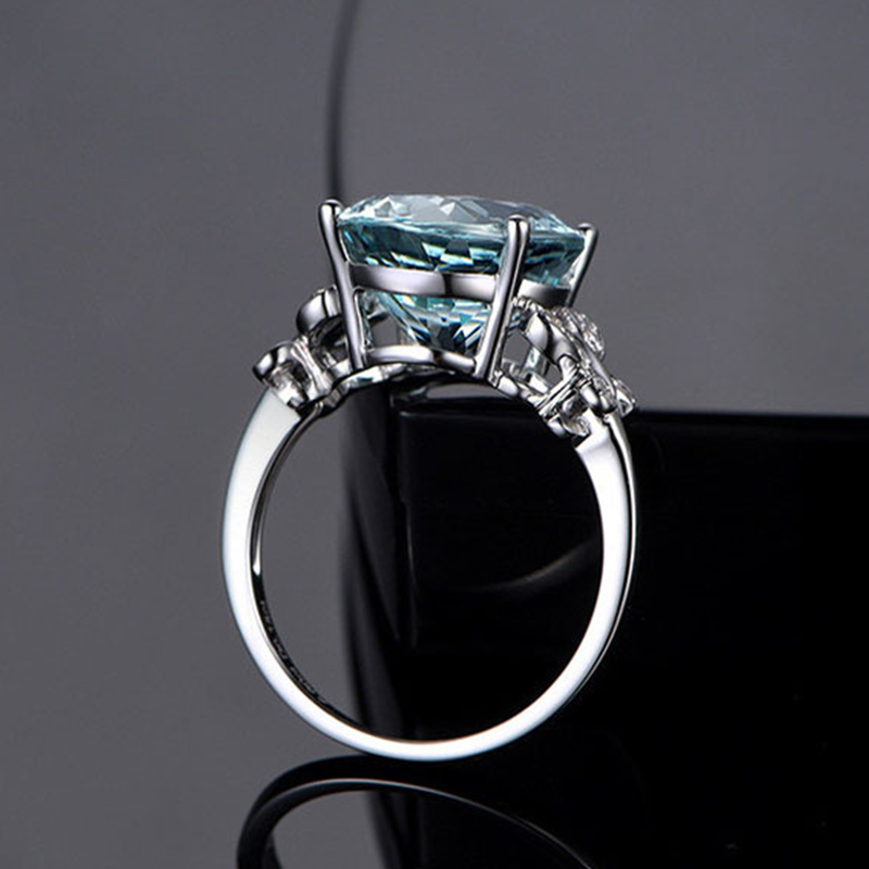 Fashion Classic 925 Sterling Silver Rings For Women Creative Butterfly Female Finger Ring Jewelry Ladies Wedding Party Gifts 2