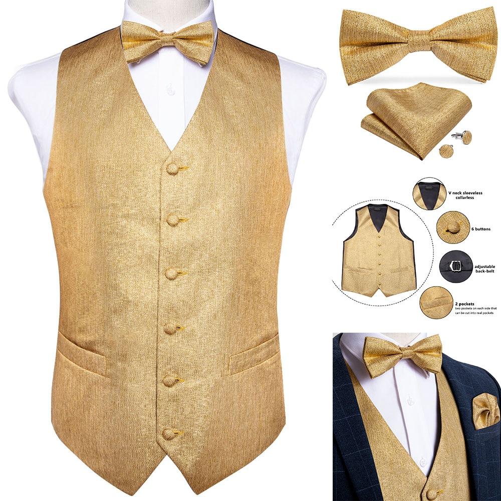 Boys OR Babies Ties Bows Cravat Sets Cufflinks Hanky Cummerbund YELLOW Mens