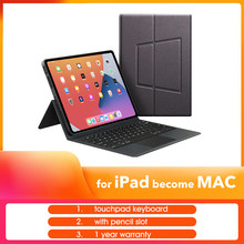 TouchPad Keyboard Case for iPad pro 11 2020 for Apple iPad Air 4 10.9 inch for iPad pro 11 12.9 2018 2020 iPad Cover Keyboard