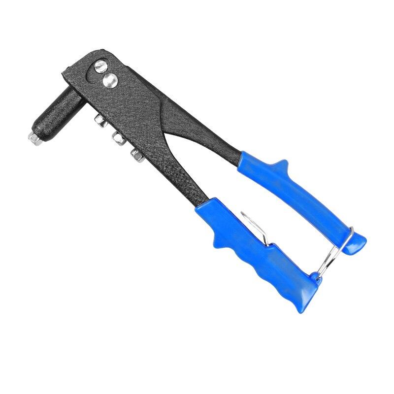 Single Handle Riveter Nut Rivet Gun Kit Rivet Gun Stainless Steel Rivet Gun Clamp Willow Hat Nut Tool Pull Gun Manual Rivet Gun