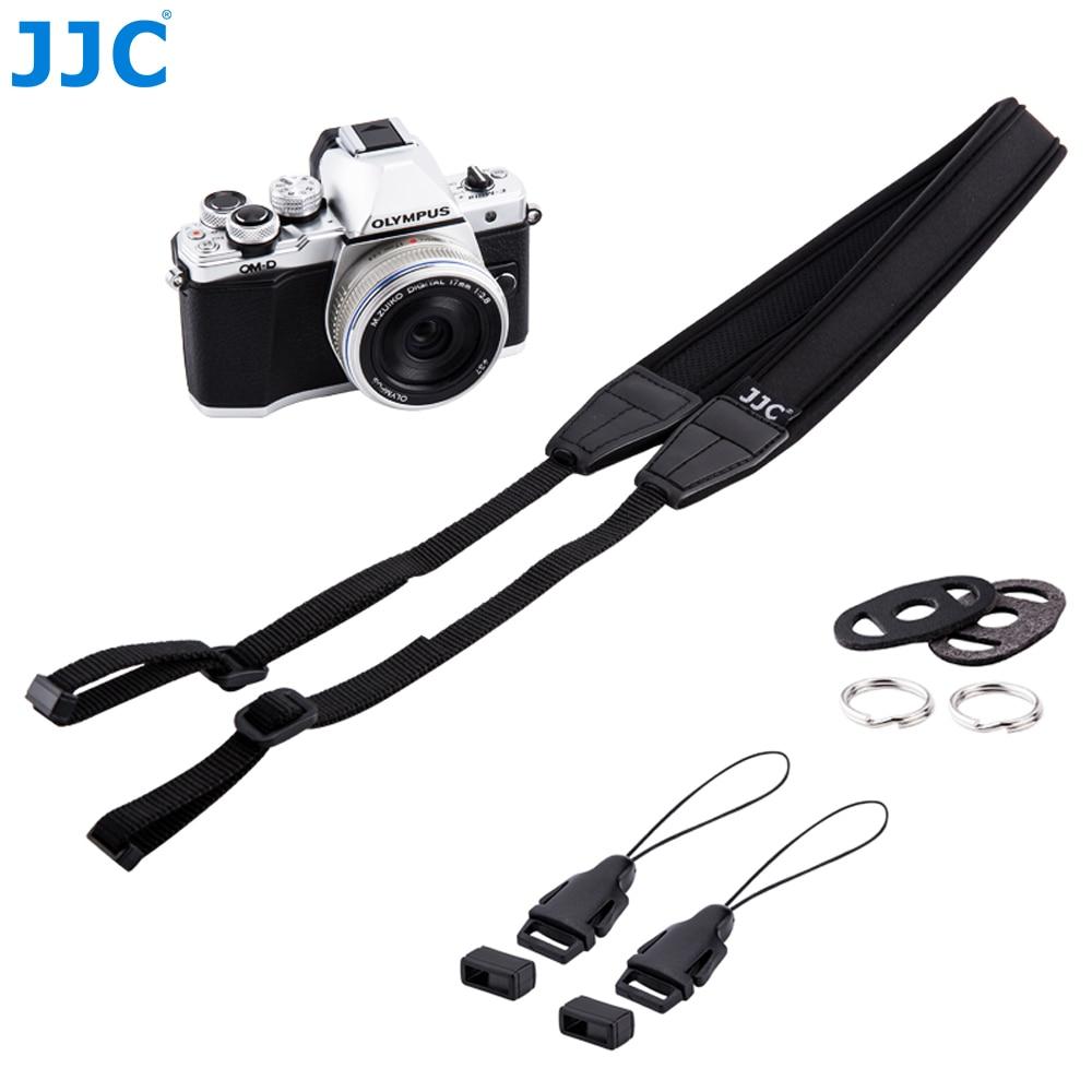 Black HONGYU Camera Accessories Anti-Slip Elastic Neoprene Quick Sling Strap for Camera Color : Yellow
