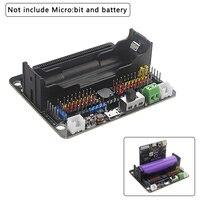 マイクロ: ビット Robotbit 拡張ボード互換 18650 リチウムバッテリー拡張アクセサリーため BBC マイクロ: ビット