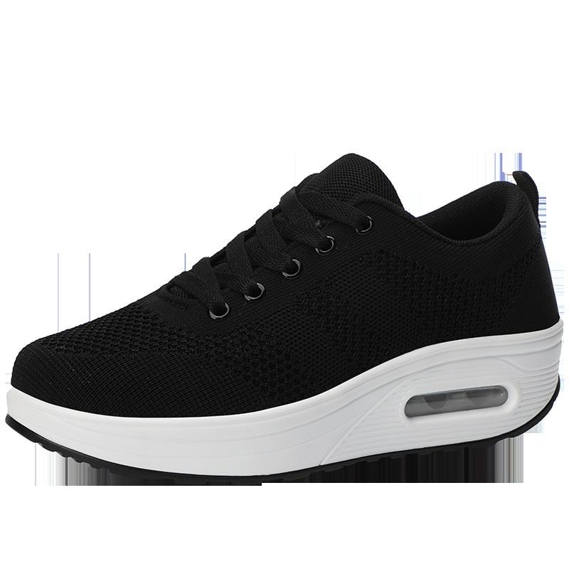 Women Casual Shoes Fashion Breathable Walking Mesh Flat Shoes Sneakers Women 2020 Gym Vulcanized Shoe