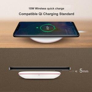Image 3 - HUAWEI אלחוטי מטען מקורי CP60 צ י מקסימום 15W מהיר להחיל עבור iphone Xs מקס/XR/X iphone 12 Galaxy S9 מהיר מטען